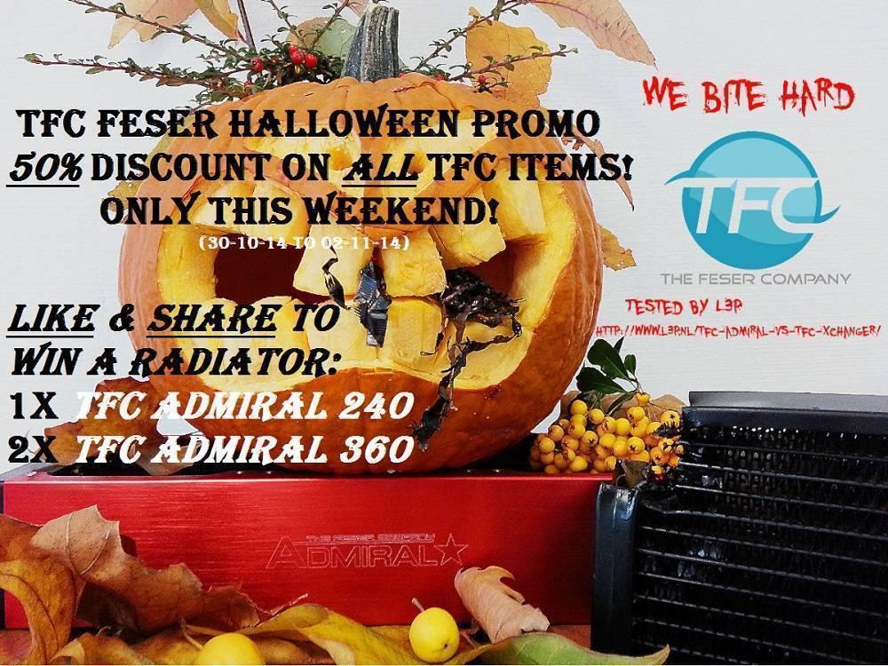 Feser Halloween Promo!
