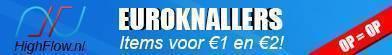 Euroknallers, items voor 1 en 2 euro!