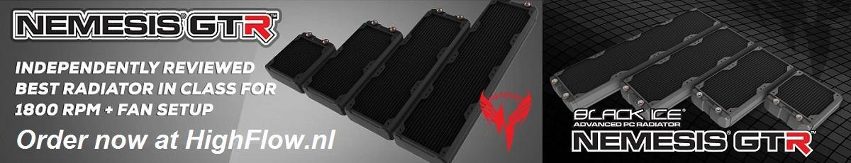 HW Labs Nemesis GTR Radiators!