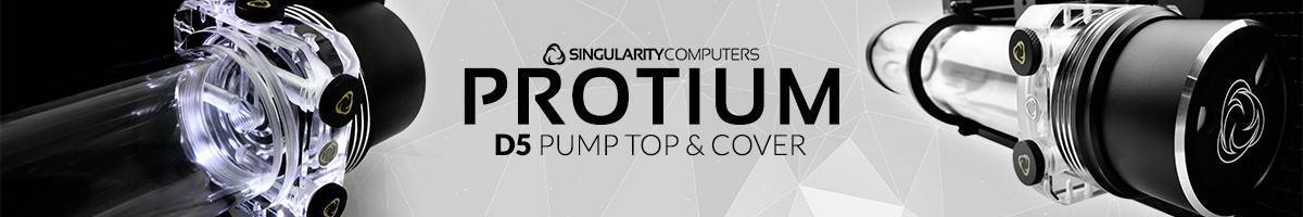 Singularity Computers D5/DDC Pump Top and Cover!