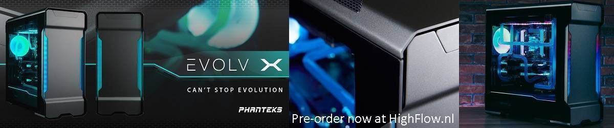 Phanteks Enthoo Evolv X Digital RGB Midi Tower Cases, Pre-Order now!