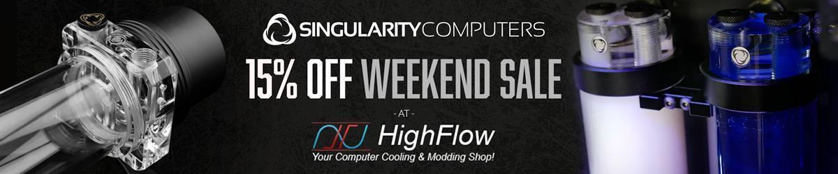 Singularity Computers 15% Off Weekend