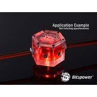 Bitspower Water Tank Hexagon - Acrylic (Limited Edition) - BP-WTHAC-LE