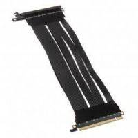 Lian Li PCI-E x16 Riser Card Kabel Gen.3 - Black - 380mm - PW-PCI-E38-1
