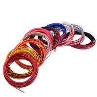 Decoration flexible trim strip - multicolor and adhesive - 4mm x 6 meters