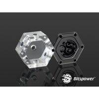 Bitspower Water Tank Hexagon 40 (Acrylic Version) - BP-WTH40AC-CL