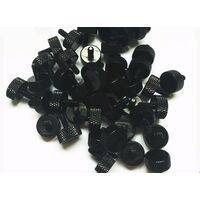 Aluminium Thumb Screw - M3 thread - Knurled Black