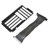 Lian Li O11-1 Vertical Riser Card Cable Kit for PC-O11 - Black