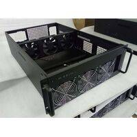 HighFlow Bitcoin/Altcoin Professional Mining Case - CAB-6 - Black