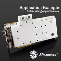 Bitspower GALAX GTX 1080 Ti HOF Acrylic (White) - BP-WBV1080TIGXH-WH