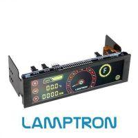 Lamptron CM430 PWM Fan Control - Red / Yellow