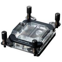 Phanteks Glacier C399a TR4 Threadripper CPU Water Block Acrylic Cover RGB LED - Black