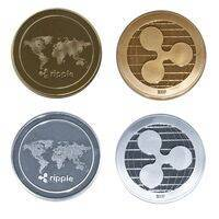 Ripple Gold or Silver Plated XRP Coin - Collectible