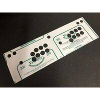 Control Panel Cover - 2 player for Arcade Bartop, Stick, Cabinet