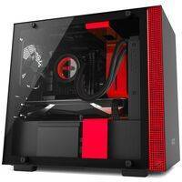NZXT H200 Matte Black/Red