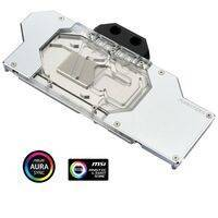 Phanteks Glacier RTX 2080 Ti GPU Full Water Block with RGB Lighting - Chrome