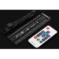 BARROW 16 CHANNEL SATA POWER, 6PIN - 5V RGB CONTROLLER WITH REMOTE