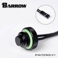 Barrow G1/4 - 10k Temperature Sensor Blank Plug - Black