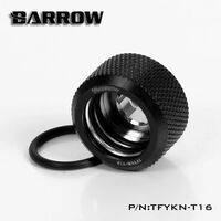 Barrow G1/4 - 14mm OD Twin Seal Hard Tube Compression Fitting - Black