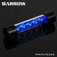 Barrow T-Virus Acrylic Blue Helix Reservoir 255mm - Black