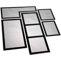 DemciFlex Dustfilter Set for Fractal Design Meshify C - Black/Black