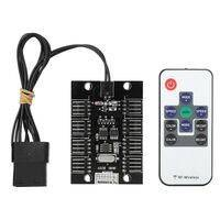 Barrow 8 Channel Molex Power, 4Pin - 12V RGB Light Controller with Remote