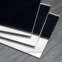 Acrylic Sheet - Mirror Silver - 600x500x3mm