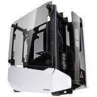 Antec Striker Mini-ITX Showcase - Tempered Glass - White