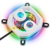 Corsair Hydro X Series XC7 RGB White CPU Water Block - 115X / AM4