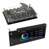 Lamptron SM436 PCI RGB Fan and LED Controller - Black