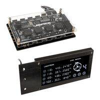 Lamptron RW460 PCI Sync RGB/ARGB/DRGB Watercooling / Fan Controller - Black