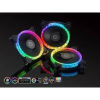 Bitspower Touchaqua Notos Xtal 120 Fan Digital RGB (3PCS)