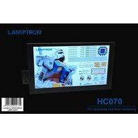 "Lamptron HC070 Portable Display for AIDA64 - 7"" IPS, HDMI, Ultra-thin narrow edge/bezel"