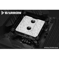 Barrow Brass Icicle Series CPU Waterblock, LRC 2.0 RGB, INTEL 115x - Nickel
