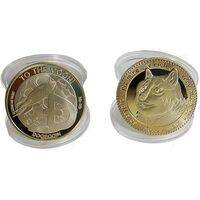 Doge Gold or Silver Plated Doge Coin - Collectible