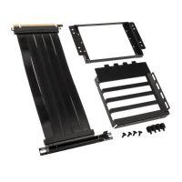 Lian Li O11D-1X-4 Riser Cable + PCI Slot Cover PCIe 4.0 - Black