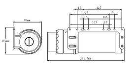 XSPC D5 Photon 170 Reservoir/Pump Combo V2