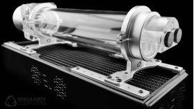 Singularity Computers Mounting Rail 120 - Silver