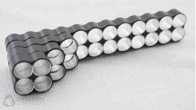 Singularity Computers SC Cable Comb - Aluminium Black Anodized