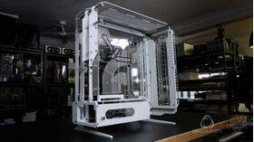 Singularity Computers Spectre 2.0 Case White