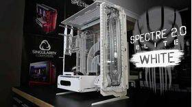 Singularity Computers Spectre Elite Kit – Front Manifold White