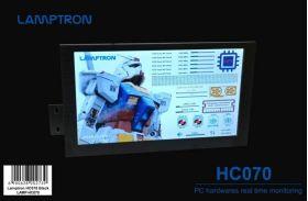 """Lamptron HC070 Portable Display for AIDA64 - 7"""" IPS, HDMI, Ultra-thin narrow edge/bezel"""