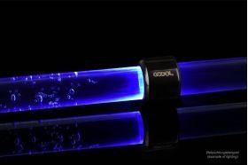 Alphacool Aurora HardTube LED ring 16mm deep black Blue