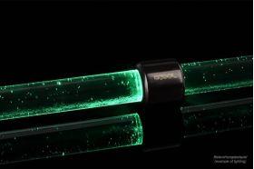 Alphacool Aurora HardTube LED ring 16mm deep black Green