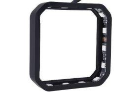 Alphacool Aurora XPX RGB frame - black