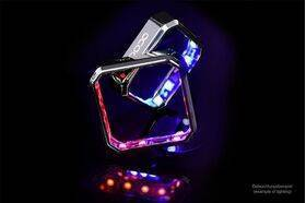 Alphacool Aurora XPX RGB frame - chrome