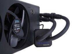 Alphacool Eisbaer Extreme liquid CPU cooler 280 - black edition