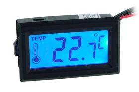 Thermosensor met Display - Blauw