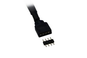 Alphacool Twin LED RGB 30cm - Sleeving black
