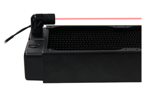 Alphacool Eiszapfen laser fitting with 4pin Molex